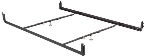 Low Profile Steel Bed Frame Hook In Steel Bed Frame With 2 Cross Support Bars Low Profile