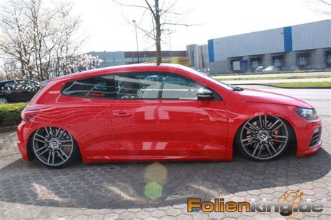 bentley rims on vw vw scirocco on bentley wheels is a show stopper