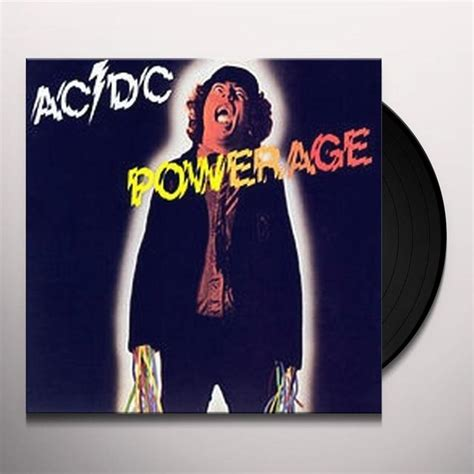 dc vinyl records ac dc powerage vinyl record