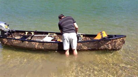 canoes youtube cano 233 esquif mallard et moteur bf 2 3 honda marine youtube
