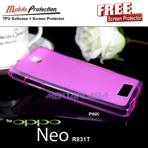 Softcase Oppo Neo 3 jual oppo neo r831t mp tpu softcase free sp