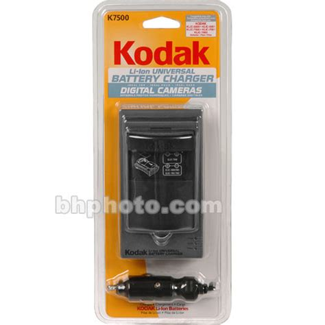 Universal Charger Baterry 007 Charger Kodok kodak k7500 lithium ion universal battery charger 8761512 b h
