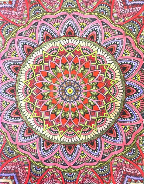 mandala wonders color for everyone