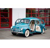 1960 Renault 4CV  Information And Photos MOMENTcar
