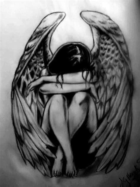 tattoo angel crying crying angel tattoo