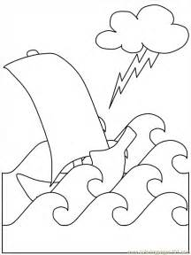 jesus calms the storm coloring pages coloring home