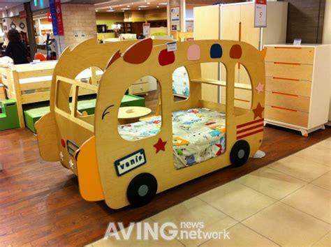 school bus bed seoul korea aving design children furniture vanif