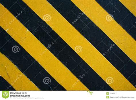 het gevaar van zwarte henna de zwarte gele strepen het gevaar stock illustratie