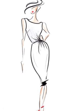 fashion illustration easy fashion illustration chic fashion design sketch