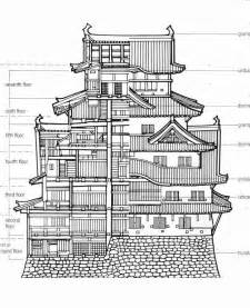 himeji castle floor plan japanese castle plans japan pinterest videos trips and herons