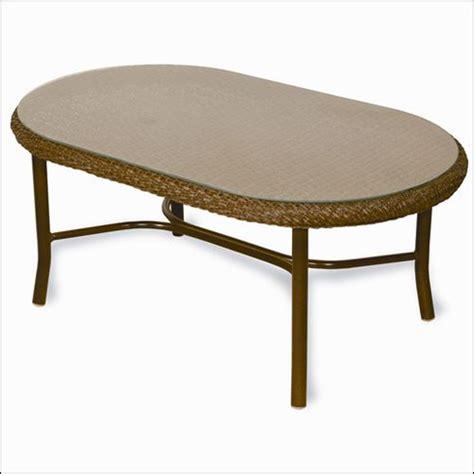 Bark Coffee Table Lloyd Flanders Bark Oval Coffee Table Wicker Paradise