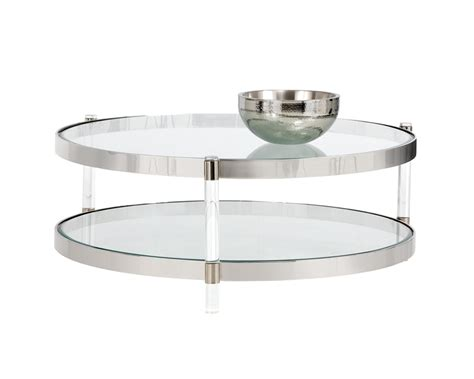 York Coffee Table York Coffee Table Lucite