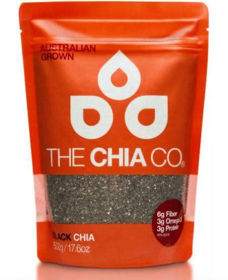 Black Chia Seed Australia The Chia Co Australia Chia Seed Black 500g