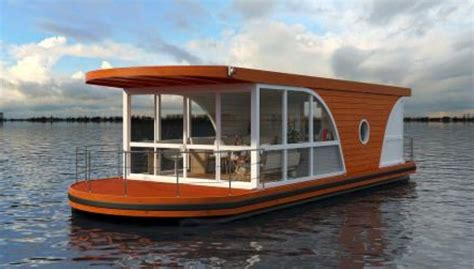 Shipping Container Homes Interior Design relaxation on water nautilus houseboats 7