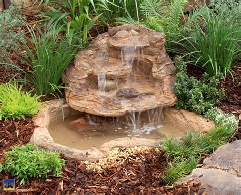 small pond waterfall design ideas