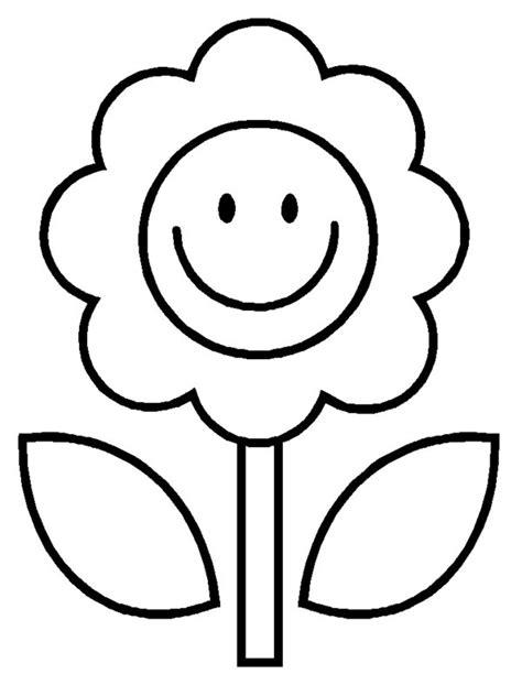 happy flower coloring page cartoon happy flower coloring pages picture 30 beautiful
