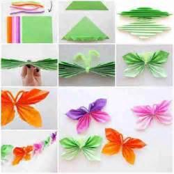 Folded Paper Butterfly Template - mariposas de papel estilo origami