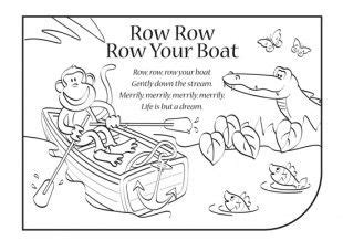 row your boat poem lyrics nursery rhymes are a great way to introduce your child to