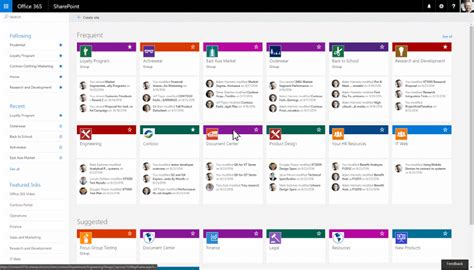 Create Connected Sharepoint Online Team Sites In Seconds Microsoft 365 Blog Sharepoint 2016 Site Templates