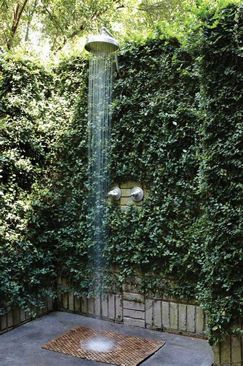 outdoor showers   fascinating idea  cheer   outdoors