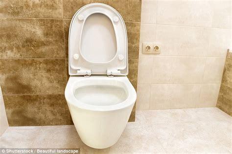 leave  toilet seat    flush  warned