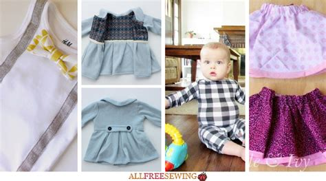 sewing  baby  diy baby clothes allfreesewingcom