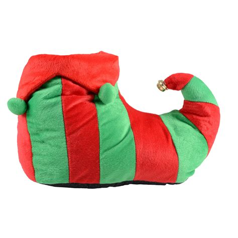 christmas house shoes adults red green elf novelty christmas slippers with non slip sole