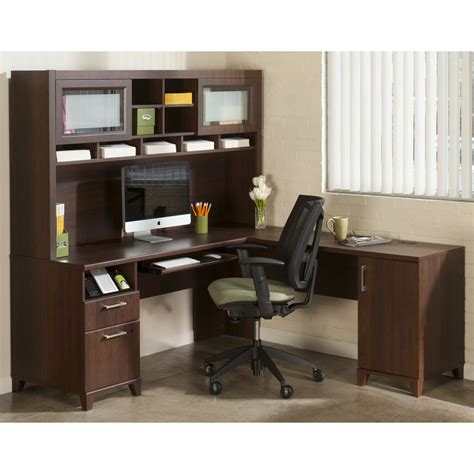 Office Desk With Hutch Storage by Furniture Storage Ideas By Corner Desk With Hutch And