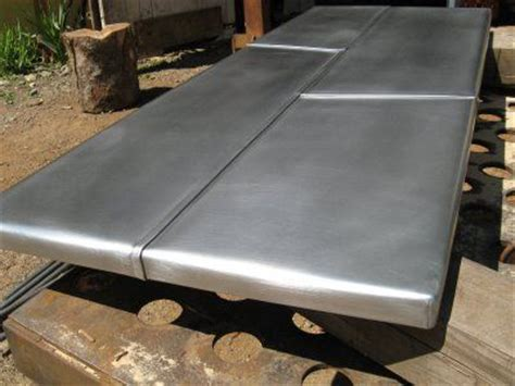 zinc sheets for table top heavy metal works zinc coffee table zinc table tops