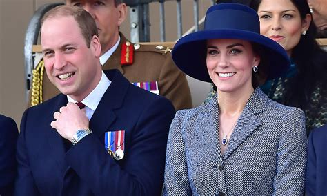 prince william and kate prince william and kate middleton support the at