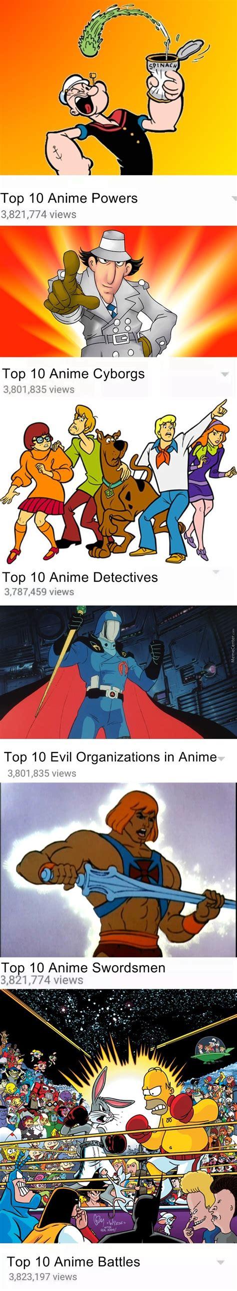 Top 10 Meme - top 10 anime memes by finger v meme center