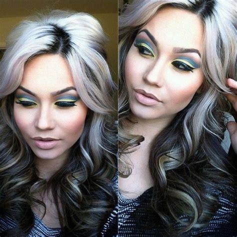 short platinum blond hightlights with dark undertones hairstyles platinum blond black undertone hairstyle pinterest