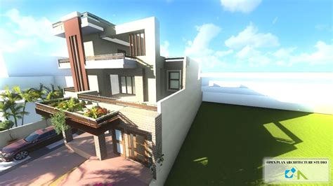 design house rohtak haryana current modern house design open plan architecture
