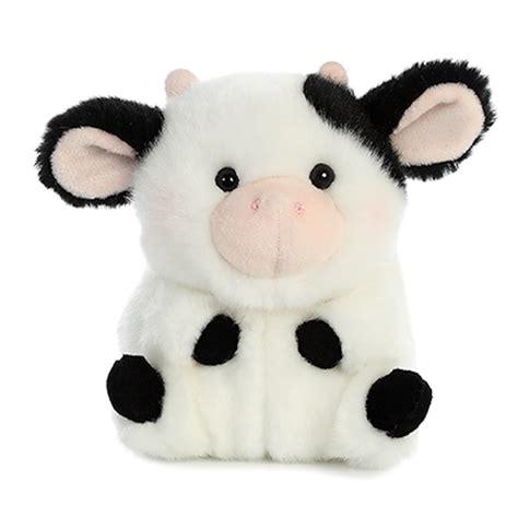 stuffed cow the cow stuffed animal rolly pet stuffed safari