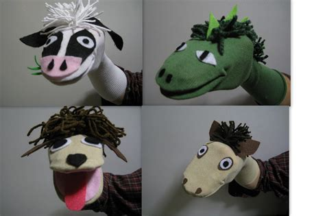 How To Make Handmade Puppets - no sew sock puppets becoming more with less
