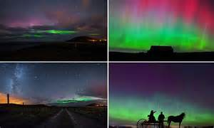 northern lights in maine 2017 solar flare causes northern lights in us kansas maine and