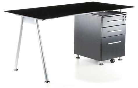 scrivania cristallo ikea scrivania per computer nero in cristallo nero temperato