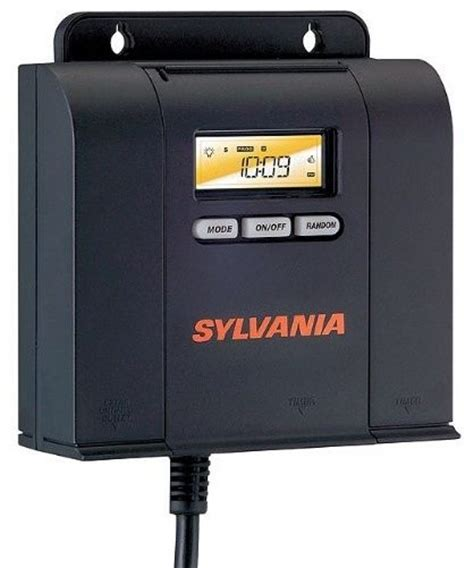Sylvania Brand Digital Outdoor Timer With 3 Outlets Sylvania Outdoor Lighting