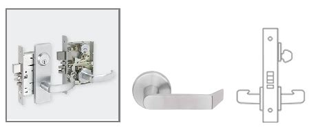 Schlage L9070 06 Mortise Classroom Lock Schlage L9050 Template