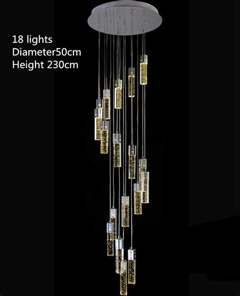 Pendant Lights For High Ceilings Led Modern Chandelier To Worldwide