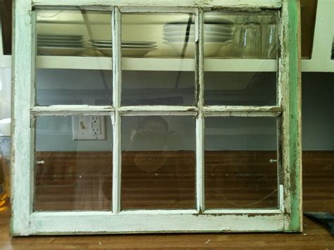 Decorative Window Panes by Stuff Wood Window Pane To Distressed Picture Frame