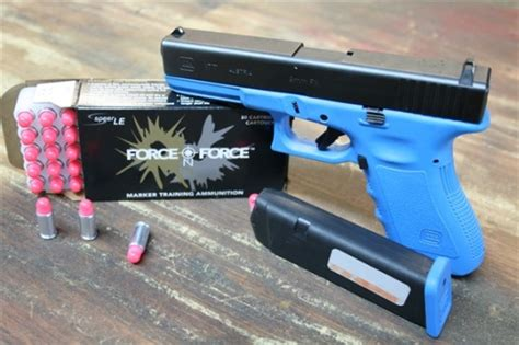 themes ltd real blue handguns force on force training aka training for reality part 1