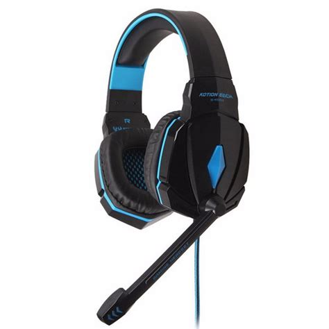 Headset Termurah jual termurah kotion each g4000 gaming headset surround headband with led light 87 berkualitas