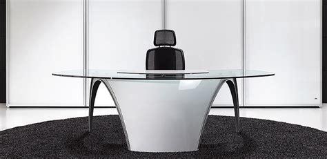 futuristic desks for home office luna by uffix digsdigs glass top desk luna by uffix designer pininfarina