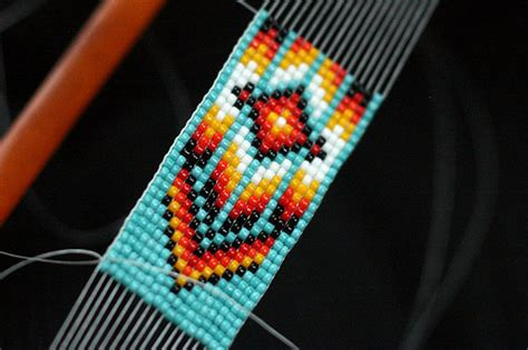 how to american bead beadwork flickr photo