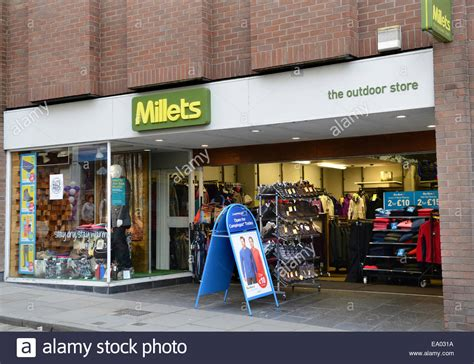 millets the outdoor shop shops store stores shrewsbury uk