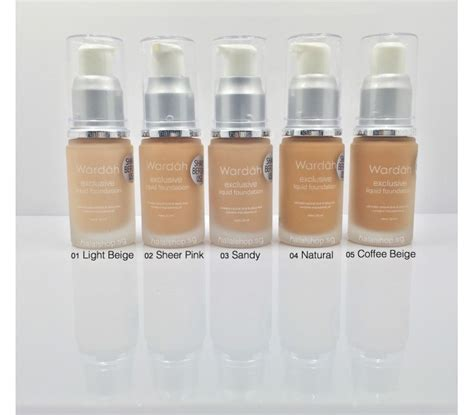 Wardah Foundation Exclusive halal cosmetics singapore wardah exclusive liquid