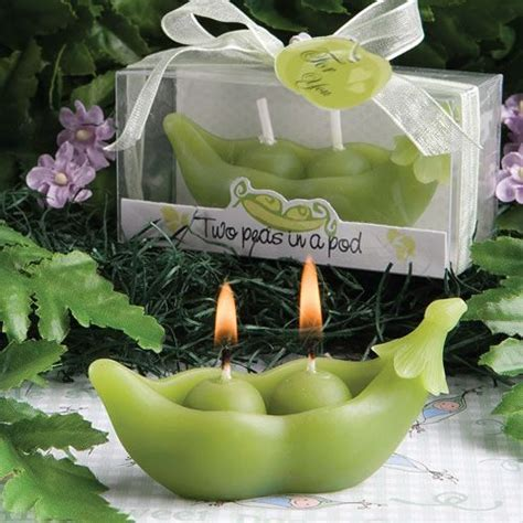 two peas in a pod collection candles baby showers