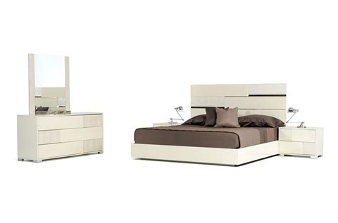 beige bedroom furniture sets modrest ancona italian modern beige bedroom set