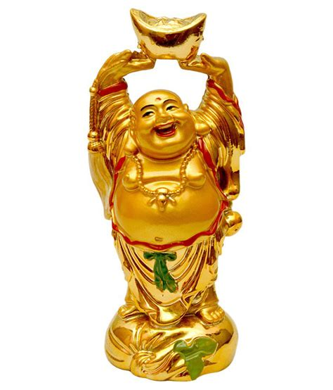 vashoppee laughing buddha with money ingot for luck